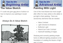 Art Instruction Newsletter Sign-Up