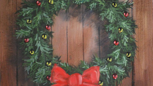Dec 11: Brown Barn Wreath